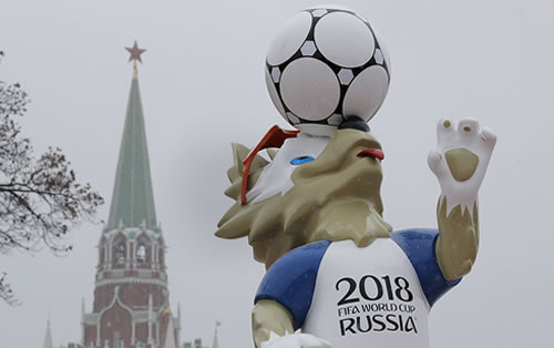 World Cup -  Russia v Egypt