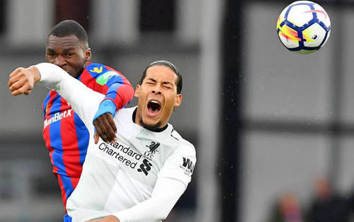 Football - Premier League - Crystal Palace / Liverpool [Live]