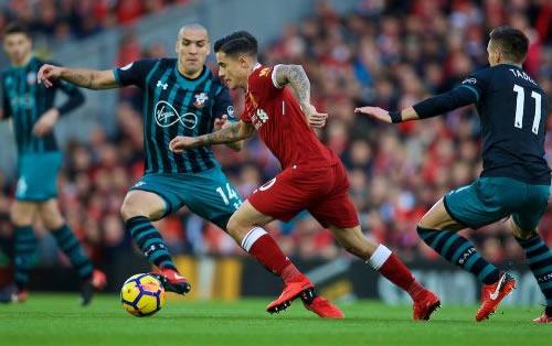 Football - Premier League - Liverpool vs Southampton [Live]