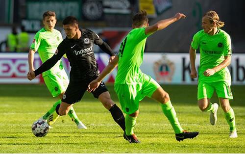 Bundesliga 2018/19 - MD8 Eintracht Frankfurt vs Fortuna Düsseldorf(Live)