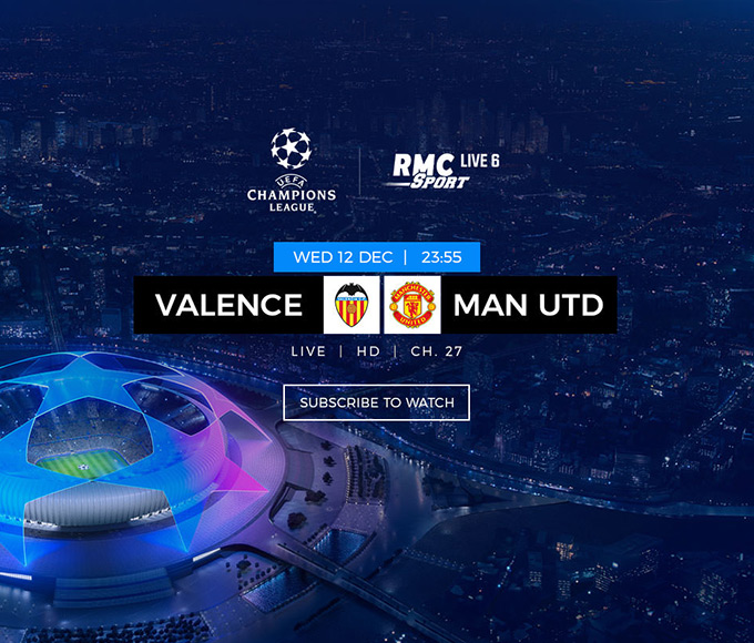 Ligue des champions - Valence vs Manchester United