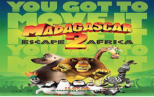 Madagascar 2 : la grande évasion