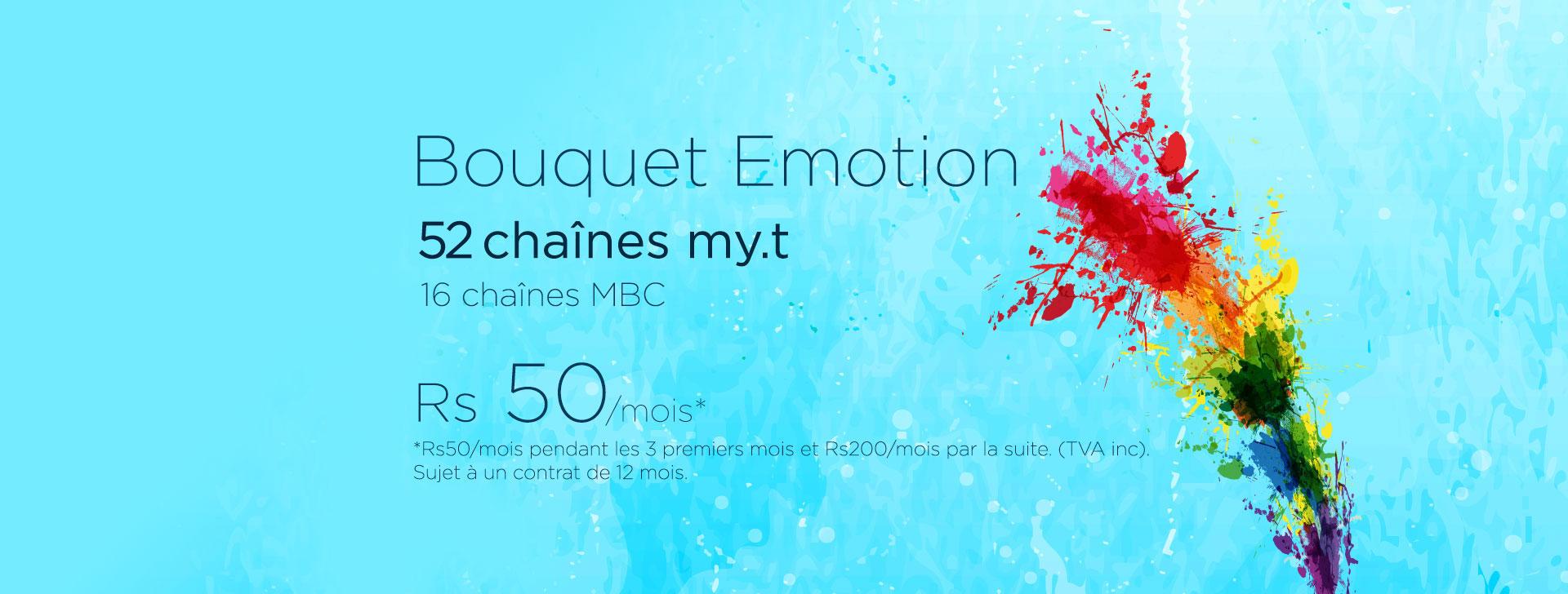 bouquet emotion