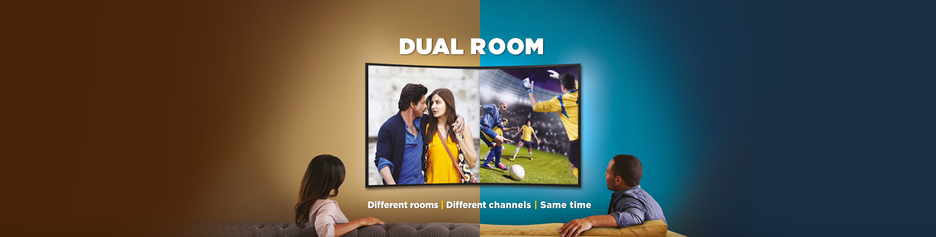 Dual Room Banner